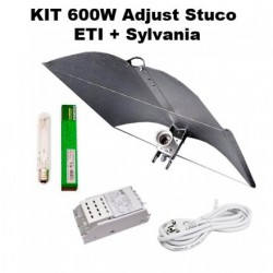 Kit 600 W ETI + Adjust a wing stuco + Sylvania Grolux
